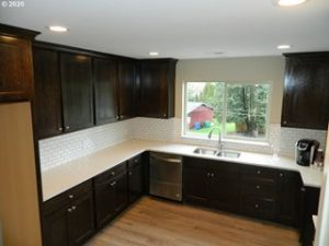 Interior of house for sale built by Quality Calvary Construction